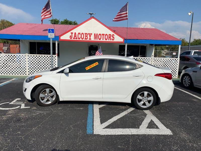2013 Hyundai Elantra for sale at Jacoby Motors in Fort Myers FL