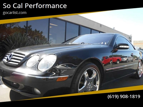 2001 Mercedes Benz CL Class For Sale In San Diego, CA