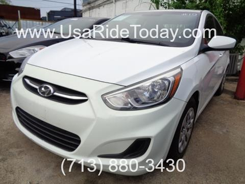 2015 Hyundai Accent for sale in Houston, TX