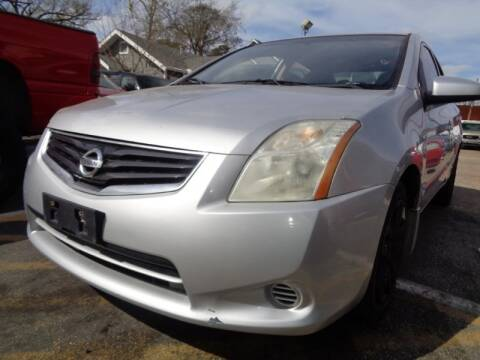2012 Nissan Sentra for sale at USA Auto Brokers in Houston TX