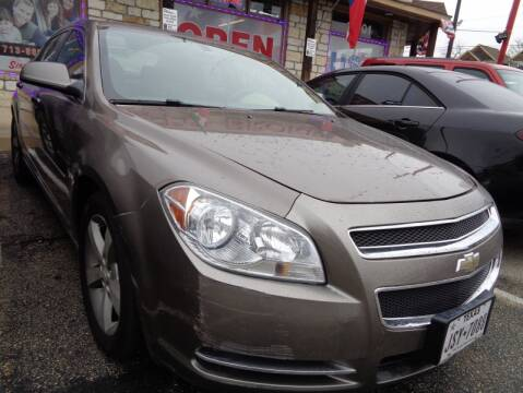 2010 Chevrolet Malibu LT for sale at USA Auto Brokers in Houston TX