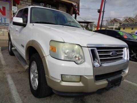 2006 Ford Explorer Eddie Bauer for sale at USA Auto Brokers in Houston TX