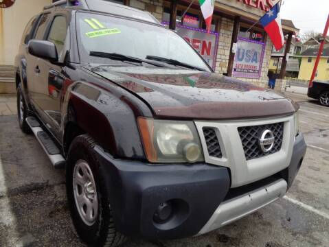 2011 Nissan Xterra for sale at USA Auto Brokers in Houston TX