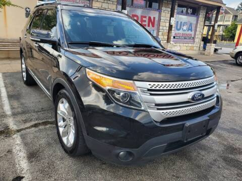 2013 Ford Explorer for sale at USA Auto Brokers in Houston TX