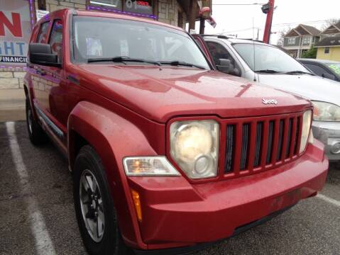 2008 Jeep Liberty for sale at USA Auto Brokers in Houston TX