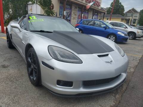 2012 Chevrolet Corvette for sale at USA Auto Brokers in Houston TX