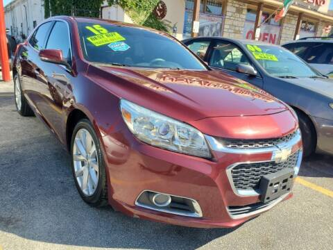 2015 Chevrolet Malibu for sale at USA Auto Brokers in Houston TX