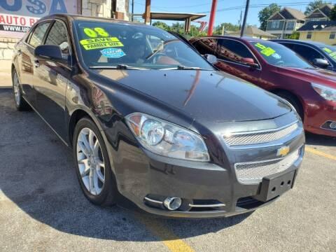 2008 Chevrolet Malibu for sale at USA Auto Brokers in Houston TX