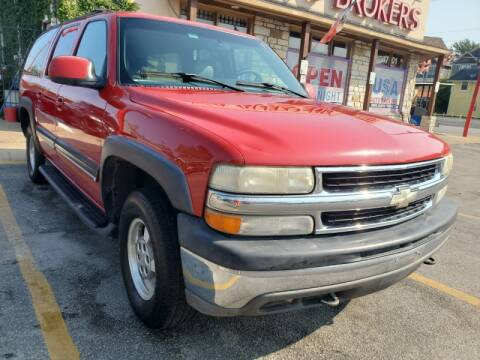 2001 Chevrolet Suburban for sale at USA Auto Brokers in Houston TX
