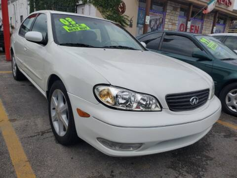 2003 Infiniti I35 for sale at USA Auto Brokers in Houston TX