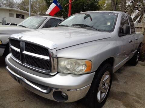 2004 Dodge Ram Pickup 1500 for sale at USA Auto Brokers in Houston TX
