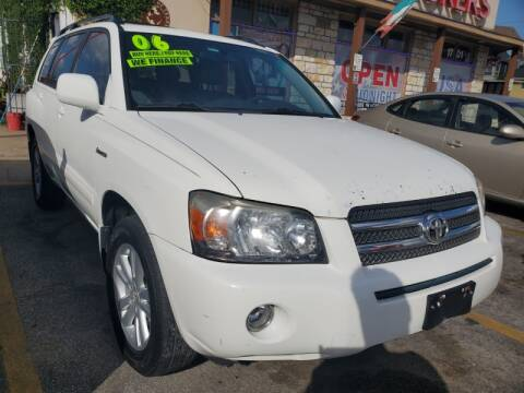 2006 Toyota Highlander Hybrid for sale at USA Auto Brokers in Houston TX