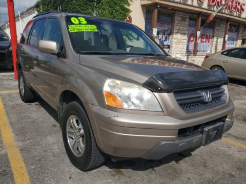 2003 Honda Pilot for sale at USA Auto Brokers in Houston TX