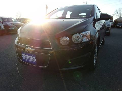 2013 Chevrolet Sonic for sale in Frederick, MD