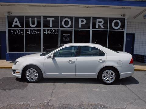 2010 Ford Fusion for sale in Sunbury, PA