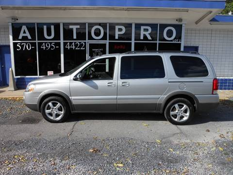 2005 Pontiac Montana SV6 for sale in Sunbury, PA