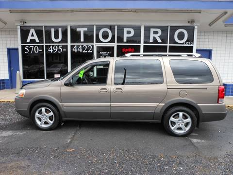 2006 Pontiac Montana SV6 for sale in Sunbury, PA