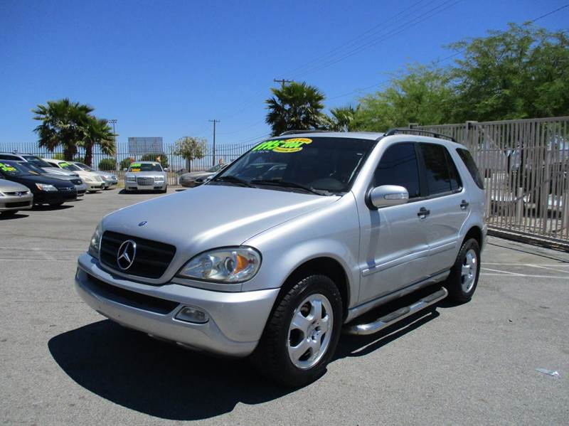 2004 mercedes benz m class awd ml 350 4matic 4dr suv in for Las vegas mercedes benz dealers