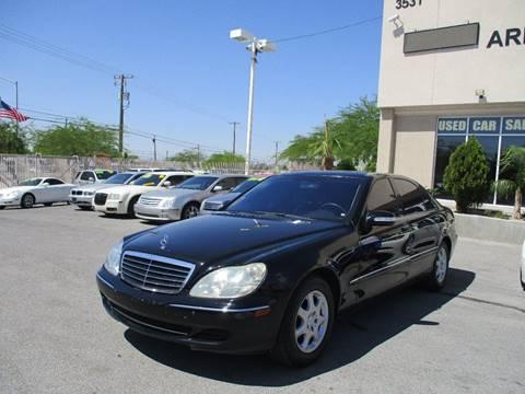 2004 Mercedes Benz S Class ...