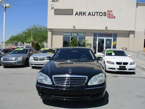 ... 2004 Mercedes Benz S Class ...