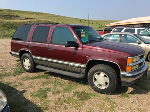 Used 1999 Chevrolet Tahoe For Sale Carsforsale Com