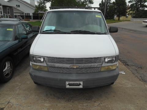 2002 Chevrolet Astro Cargo for sale in Chamberlain, SD