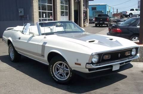 1971 Ford Mustang for sale at BONIA MOTORS in Lynn MA
