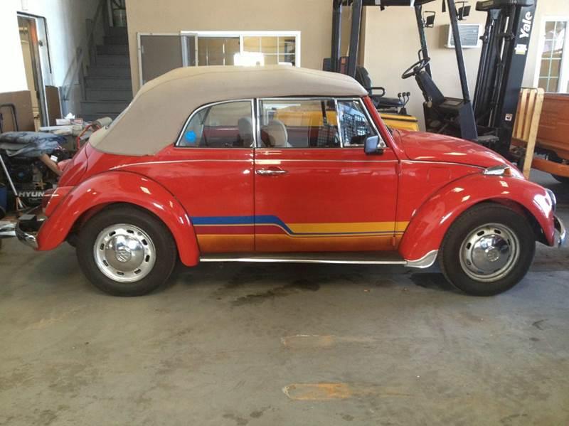 1969 Volkswagen Beetle Convertible for sale at BONIA MOTORS in Lynn MA