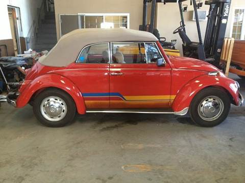 1969 Volkswagen Beetle Convertible for sale at BONIA MOTORS in Lynn MA