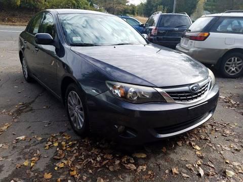 2008 Subaru Impreza for sale in East Granby, CT