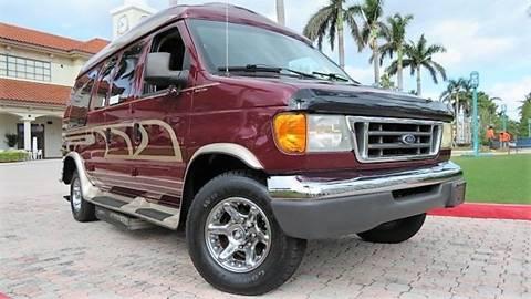 2003 Ford E 350 For Sale In Boca Raton FL