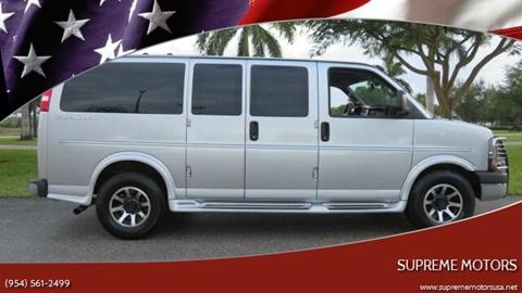 2016 Chevrolet Express Cargo for sale in Boca Raton, FL