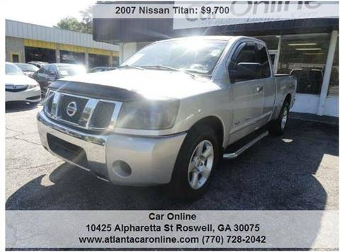 2007 Nissan Titan for sale in Roswell, GA