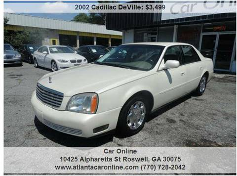 2002 Cadillac DeVille for sale in Roswell, GA