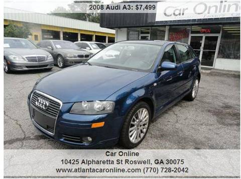 2008 Audi A3 for sale in Roswell, GA