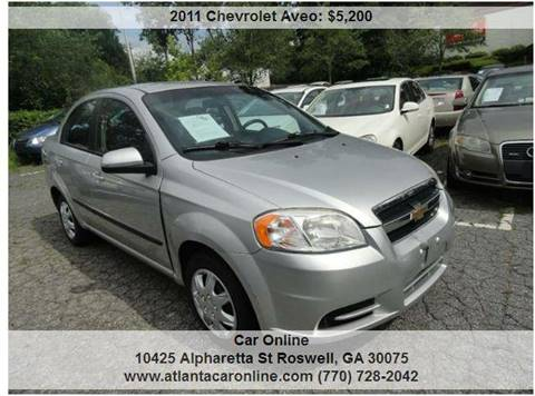 2011 Chevrolet Aveo for sale in Roswell, GA