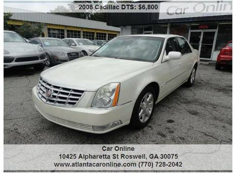 2008 Cadillac DTS for sale in Roswell, GA