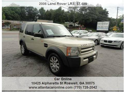 2006 Land Rover LR3 for sale in Roswell, GA