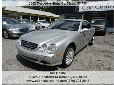 2002 Mercedes-Benz CL-Class for sale in Roswell, GA