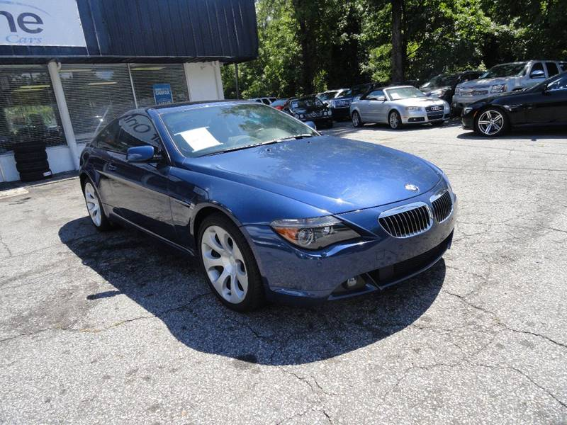 2005 Bmw 6 Series 645Ci 2dr Coupe In Roswell GA  Car Online