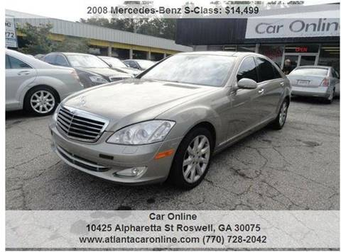 2008 Mercedes-Benz S-Class for sale in Roswell, GA
