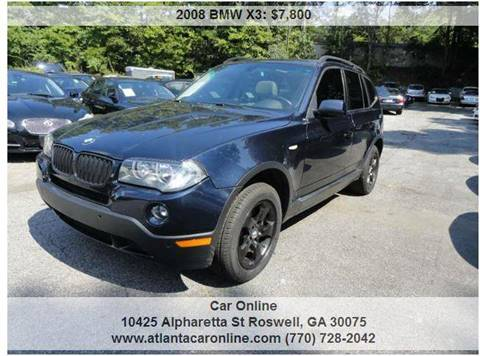 2008 BMW X3 for sale in Roswell, GA