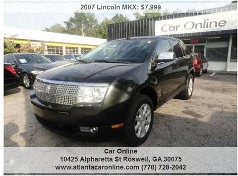 2007 Lincoln MKX for sale in Roswell, GA