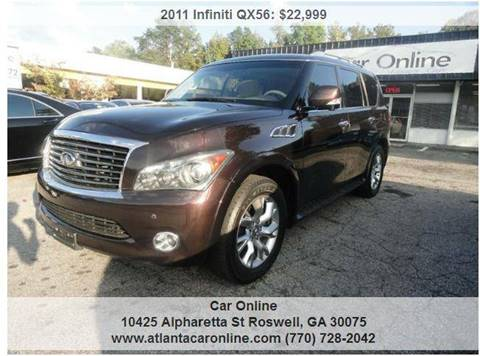 2011 Infiniti QX56 for sale in Roswell, GA
