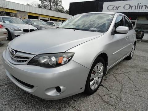 2011 Subaru Impreza for sale at Car Online in Roswell GA