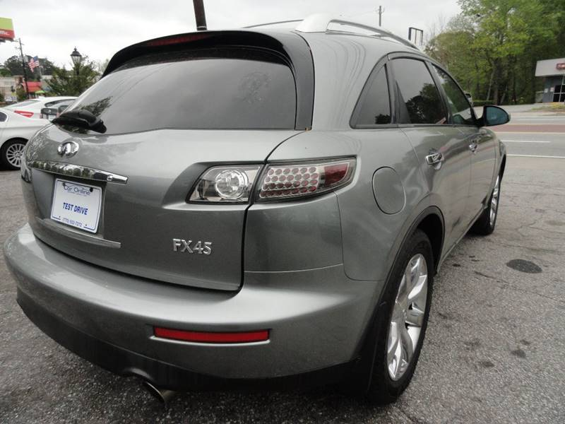 2005 Infiniti Fx45 Awd 4dr Suv In Roswell Ga Car Online