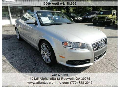 2009 Audi A4 for sale in Roswell, GA