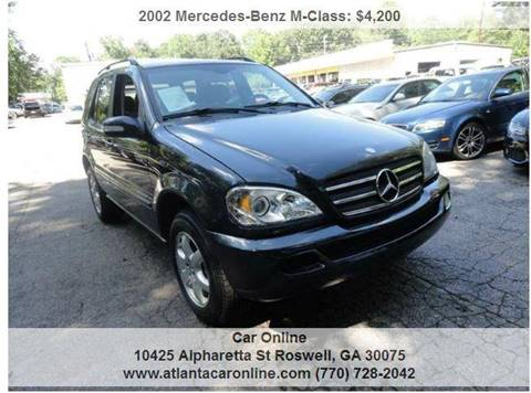 2002 Mercedes-Benz M-Class for sale in Roswell, GA