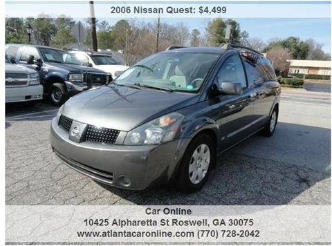 2006 Nissan Quest for sale in Roswell, GA