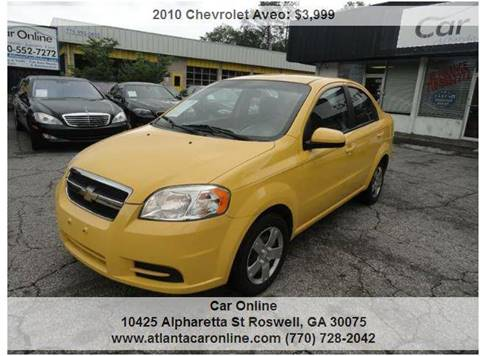 2010 Chevrolet Aveo for sale in Roswell, GA